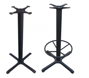 4-Prong Bar Height Table Bases