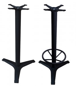 """B"" Series (3-Prong) Bar Height Bases"