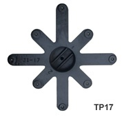 top plate 17
