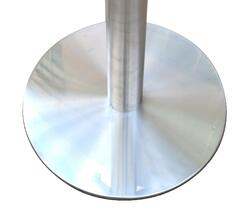 Stainless steel table base plate